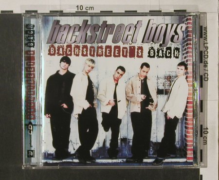Backstreet Boys: Backstreet's Back, (yellow CD), Jive(CHIP186/0516842), EU, 1997 - CD - 91720 - 10,00 Euro