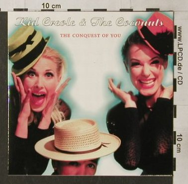 Kid Creole & the Coconuts: The Conquest Of You,Digi,Promo, SPV(085-44712-P), D, 97 - CD - 91871 - 6,00 Euro