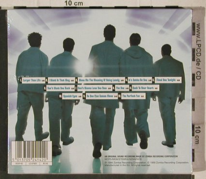 Backstreet Boys: Millennium, LimEd. Mousepad,FS-New, Zomba(0524142), EEC, 1999 - CD - 91894 - 10,00 Euro