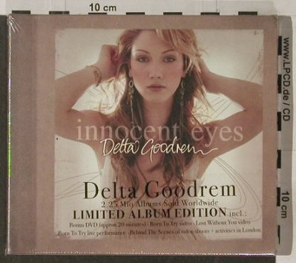 Goodrem,Detta: Innocent Eyes,Lim.Ed., FS-New, Sony(510951), , 2003 - CD/DVD - 91925 - 10,00 Euro