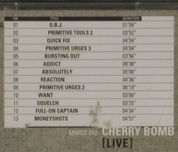Cherry Bomb: Live, FS-New, N.E.W.S(), , 2001 - CD - 91972 - 10,00 Euro