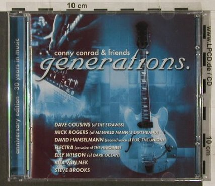 Conny Conrad & Friends: Generations, FS-New, Popline(), , 2004 - CD - 92167 - 11,50 Euro