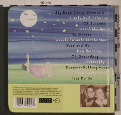 Loeb,Lisa & Elizabeth Mitchel: Catch the Moon, Buch mit CD, SheridanSq(RCDBK17021), EU, 2003 - CD - 92206 - 10,00 Euro