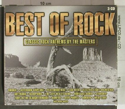 V.A.Best of Rock: Classic Anthems by the Masters, BMG(), EU,BoxSet, 2001 - 3CD - 92266 - 9,00 Euro