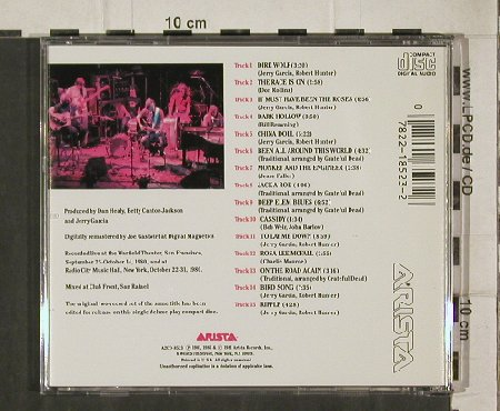 Grateful Dead: Reckoning, Arista(A2CD-8523), US, 1986 - CD - 92309 - 12,50 Euro