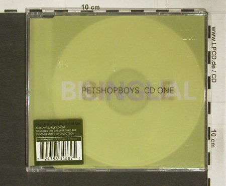 Pet Shop Boys: Single-Bilingual+3, CD 1, Parlophone(), , 1996 - CD5inch - 92345 - 7,50 Euro