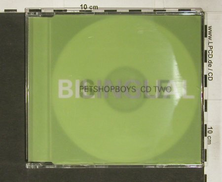 Pet Shop Boys: Single-Bilingual,4Tr. CD 2, Parlophone(), , 96 - CD5inch - 92346 - 7,50 Euro