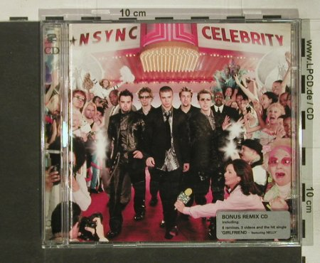 Nsync: Celebrity, 15 Tr.+Bonus CD, Jive(), EU, 2001 - 2CD - 92456 - 10,00 Euro