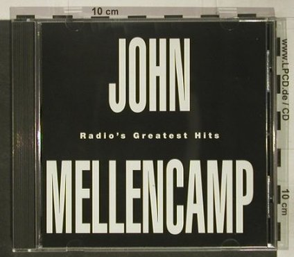 Mellencamp,John: Radio's Greatest Hits,Promo,17 Tr., Mercury(SACD 718), US, 1993 - CD - 92480 - 10,00 Euro