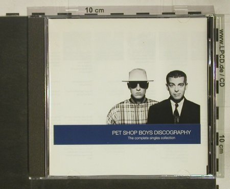 Pet Shop Boys: Discography-Compl.Singles, Parlophone(), NL, 1991 - CD - 92532 - 10,00 Euro