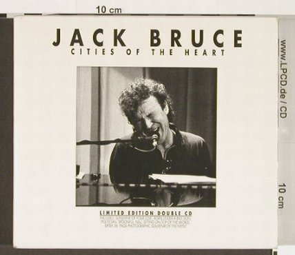 Bruce,Jack: Cities Of The Heart, Lim.Ed., CMP(1004), D, 1993 - 2CD - 92724 - 11,50 Euro