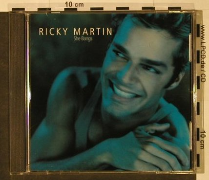 "Martin,Ricky: Loaded*3, Promo/ She Bangs*4, Sony(), , 2001 - CD5""*2 - 92734 - 3,00 Euro"