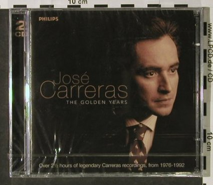 Carreras,Jose: The Golden Years, FS-New, Philips(), D, 1999 - 2CD - 92814 - 9,00 Euro