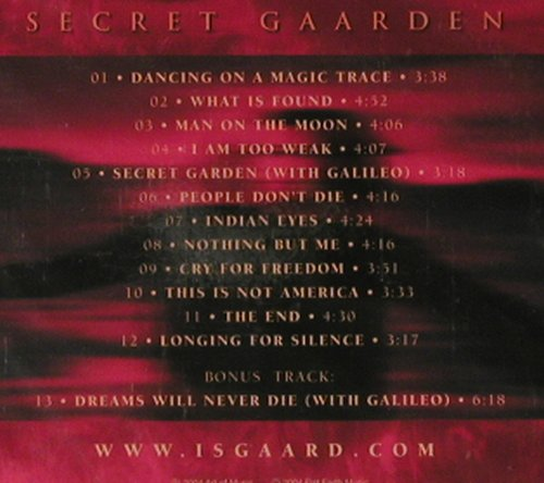 Isgaard: Secret Gaarden, FS-New, Flat Earth Music(), , 2004 - CD - 92818 - 7,50 Euro