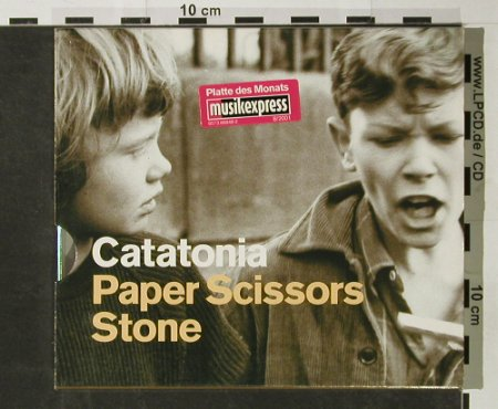 Catatonia: Paper Scissors Stone, Warner(), EU, 2001 - CD - 92842 - 7,50 Euro