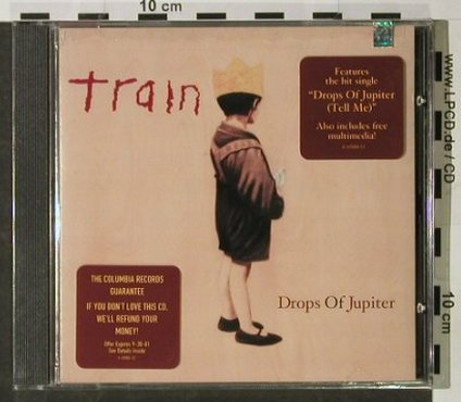 Train: Drops Of Jupiter, FS-New, Columbia(CK 69888), US, 2001 - CD - 92855 - 9,00 Euro