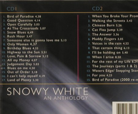 White,Snowy: Bird Of Paradise-An Anthology, Smith & Co(SCCD 1018), NL,FS-New, 2003 - 2CD - 92984 - 10,00 Euro