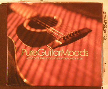 V.A.Pure Guitar Moods: ..to Relax the Mind & Body, FS-New, Beechwood(PURcd10), UK, Box, 2004 - 4CD - 93016 - 11,50 Euro