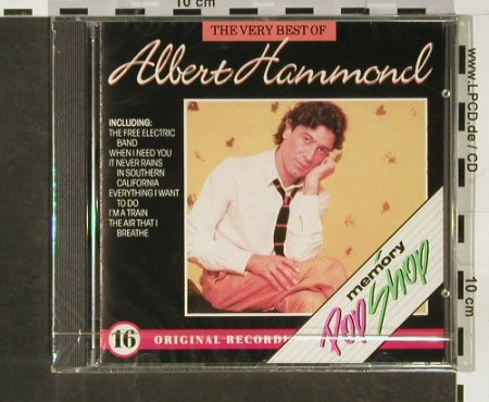 Hammond,Albert: The Very Best of,(Memory Pop Shop), CBS(463185 5), NL,FS-NEW, 1988 - CD - 93113 - 10,00 Euro