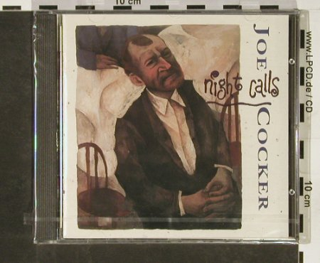 Cocker,Joe: Night Calls, FS-New, Capitol(CDP 7 95898 2), EU, 1991 - CD - 93116 - 7,50 Euro