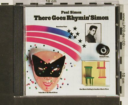 Simon,Paul: There Goes Rhymin Simon, WB(), EU, 1973 - CD - 93127 - 11,50 Euro