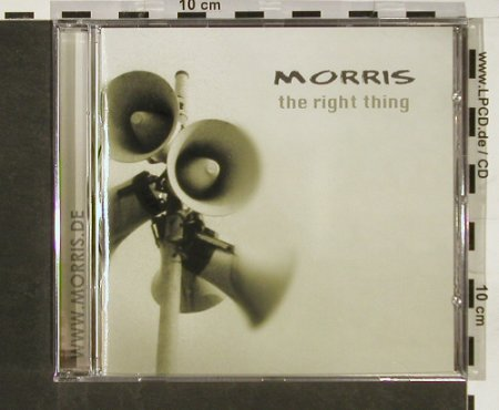 Morris: The Right Thing, FS-New, Tantrix(942 300), , 2004 - CD - 93152 - 10,00 Euro