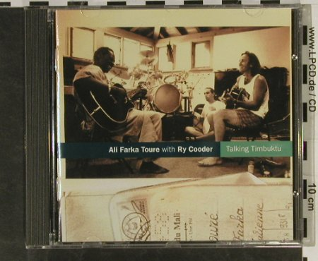 Toure,Ali Farka & Ry Cooder: Talking Timbuktu, World Circuit(WCD 040), UK, 1994 - CD - 93273 - 12,50 Euro