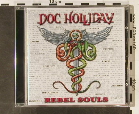 Doc Holliday: Rebel Souls, FS-New, Art Beat(phoe 30282), D, 2005 - CD - 93312 - 11,50 Euro
