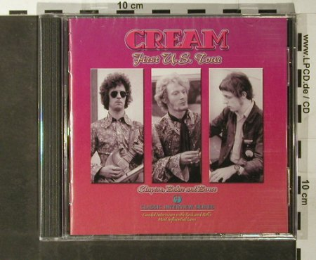 Cream: First U.S.Tour-INTERVIEW, FS-New, Evangeline(ACAI 01), UK, 2004 - CD - 93396 - 10,00 Euro