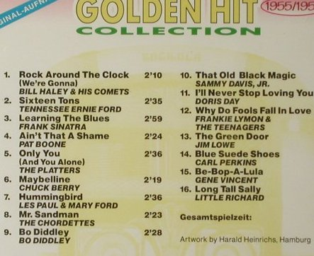 V.A.Golden Hit Collection: Vol.1(1955) ...Vol.25(1980), FS-New, Euro Trend(152.113...198), ,  - CD*25 - 93407 - 40,00 Euro