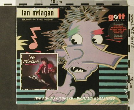 McLagan,Ian: Bump In The Night/Troublem., FS-New, Gott Discs(GOTTcd036), UK, 2006 - 2CD - 93557 - 11,50 Euro