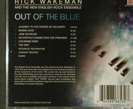 Wakeman,Rick & English Rock Ensembl: Out Of The Blue,FS-New, Music Fusion(M 7088 2), EU, 2006 - CD - 93619 - 11,50 Euro