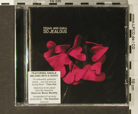 Tegan and Sara: So Jealous, FS-New, Sanctuary(), EU, 2005 - CD - 93777 - 11,50 Euro