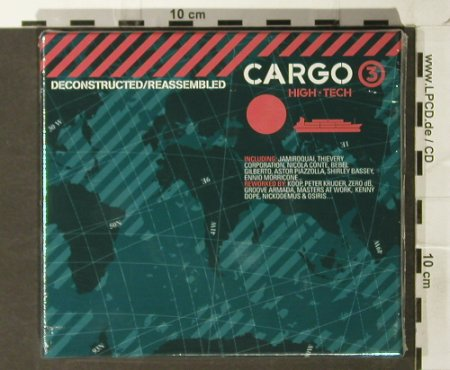 V.A.Cargo 3: Deconstructed, Reassembled, FS-New, Cool d:vision Rec.(), EU, Box, 2005 - CD - 93780 - 10,00 Euro