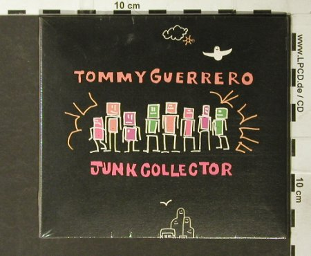 Guerrero,Tommy: Junk Collector, Digi, 5 Tr., FS-New, Mowax(), , 01 - CD5inch - 93807 - 7,50 Euro
