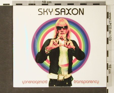 Sky Saxon: Transparency, FS-New, Jungle/People Rec.(), , 2005 - CD/DVD - 93865 - 11,50 Euro