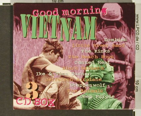 V.A.Good Morning Vietnam: Box Set, Disky(HR 863812), NL, 1996 - 3CD - 93960 - 12,50 Euro