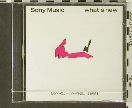V.A.What's New: March/April 1991,Promo, FS-New, Columbia(SAMPcd 1492), ,  - CD - 94022 - 7,50 Euro
