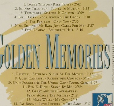 V.A.Golden Memories: Oldies der NDR Hamburg Welle, Pilz/NDR(44 1071-2), D, FS-New, 1993 - CD - 94025 - 5,00 Euro
