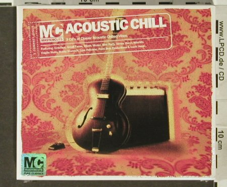 V.A.Acoustic Chill: Embrace,Small Faces..Kanute,FS-New, Mastercuts(), , 2006 - 3CD - 94033 - 10,00 Euro