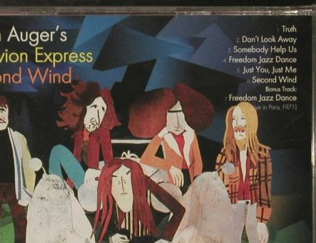 Auger Oblivion Express,Brian: Second Wind, FS-New, Castle(CMRcd 1100), EU, 2005 - CD - 94126 - 10,00 Euro
