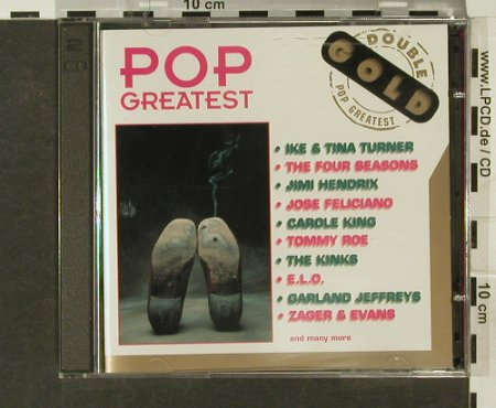 V.A.Double Gold-Pop Greatest: 36 Tr., I&T.Turner,Hendrix,ELO..., Bellaphon(993 07 023), D, 1995 - 2CD - 94139 - 7,50 Euro