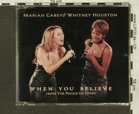 Carey,Mariah & W.Houston: When You Believe*2+2, Columb.(), A, 1998 - CD5inch - 94287 - 4,00 Euro