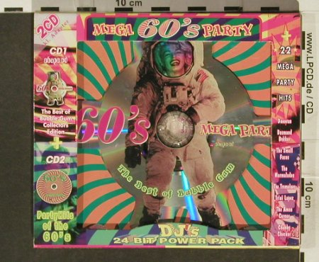 V.A.The Best of Bubble Gum: 60's Mega Party+ CD Shape, Lollipop(), ,  - CD - 94289 - 5,00 Euro