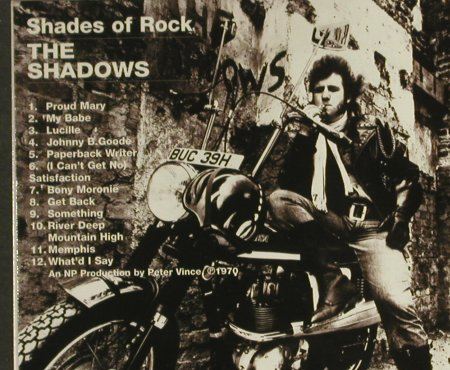 Shadows: Shades Of Rock (70),Digi, EMI(), EU, 1999 - CD - 94439 - 10,00 Euro