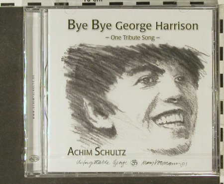 Schultz,Achim: Bye Bye George Harrison, FS-New, AS(), ,  - CD - 94561 - 11,50 Euro