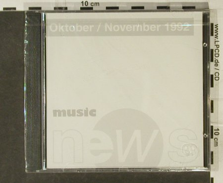 V.A.Music News - Nov.92: AC/DC, Tori Amos..., FS-New, EW(), D, 1992 - CD - 94680 - 7,50 Euro