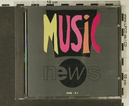 V.A.Music News - Juni'91: AC/DC,Winger,Thomas Anders, EW(), D, 1991 - CD - 94681 - 7,50 Euro