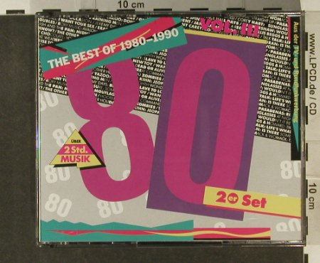 V.A.The Best Of 1980-90: Vol.3 , 31 Tr., EMI(), D, 1991 - 2CD - 94858 - 10,00 Euro