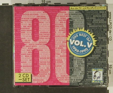 V.A.The Best Of 1980-90: Vol.5 , 30 Tr, EMI(), D, 1992 - 2CD - 94859 - 10,00 Euro